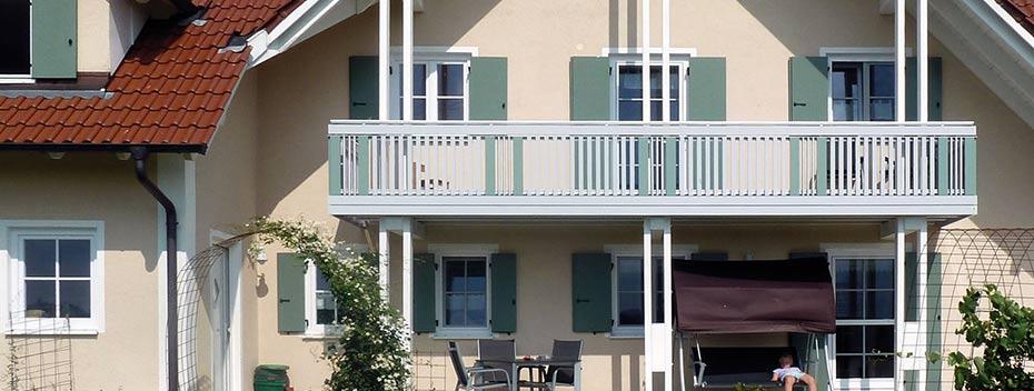 Bekannt Balkone: Reitmaier Balkon und Balkongeländer aus Aluminium Alu XM44