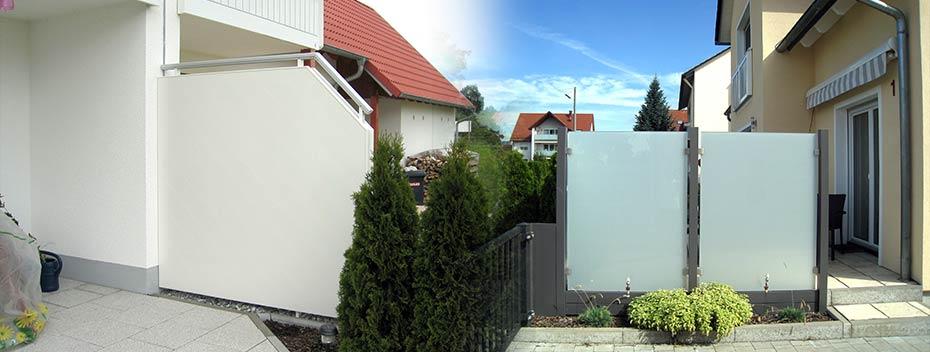 Wind Und Sichtschutz Montage Durch Die Reitmaier Balkon Gmbh